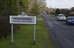 Mountsorrel village sign