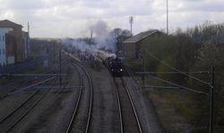 Leaving Lichfield City