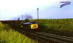 Class 45 heading southbound