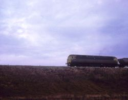 Class 47 heading southbound