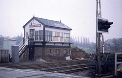 Rushall Signal Box