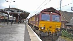 Class 66 running light