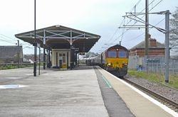 66174 passes Platform 2
