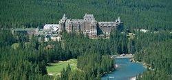 Banff Springs Hotel,Banff Alberta,canada