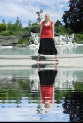 Sara's Fountain Ripples.