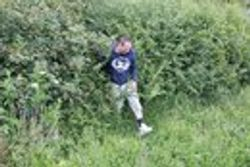 Me escaping the wildlife