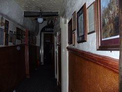 Orb in the corridor