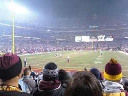 Redskins vs Cowboys Dec 27 2009 -1