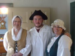 Docents ready to lead a tour...