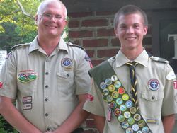 Scouts give back.