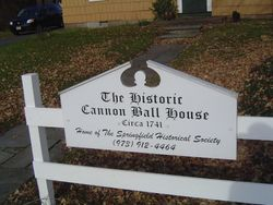Welcome to the Historic Cannon Ball House!