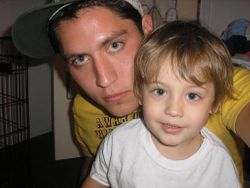 My grandson Justin Ridenour