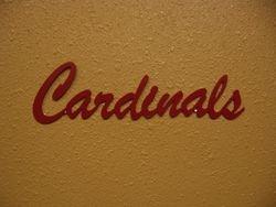 Cardinals Wall