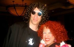 Howard Stern meets Bette Midler