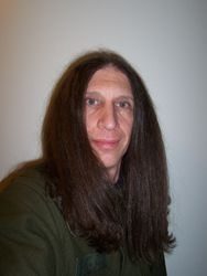 Me, with straight hair