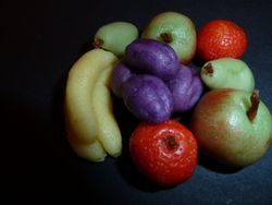 Marzipan Fruits - Yum!