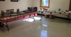 All set up for the Book Giveaway May 20, 2018