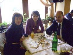 So Ana pred zaminuvanje za Lucca