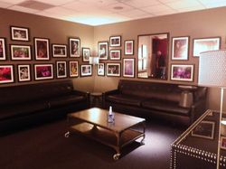 The main Dressing Room where they always interview the artists.