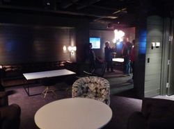 A huge private party room for VIPs and Celebrities only!