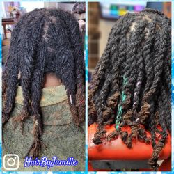 Loc maintenance on 3 year old extensions