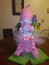 Infant/onesize cloth diaper cake