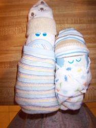 Set of diaper babies