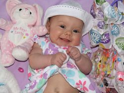 Ella's first Easter
