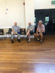 Peter Barr, Mark Turner, and John Sopp