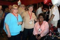 Donna Reichle, Beth Lucas, Marsha Smallwood