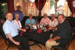 George & Linda Wible, Donna & David Meyer, Barb & Bob Davis