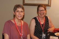 Mary Helen Schneider & Dian Sutherland