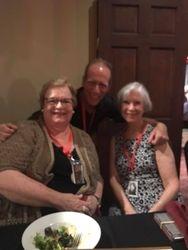 Chris Meredith, Rich Sonnet, Margie Monahan
