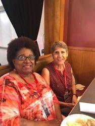 Marsha Smallwood & Mary Helen Schneider