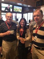 George Egg, Kathy McCoy, Kip Miller