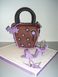 tas + schoen taart