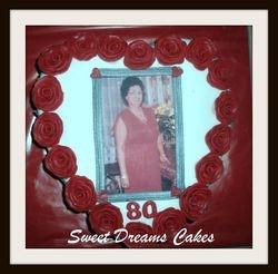 hart taart 15-20 personen