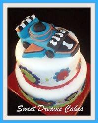 Autotje taart