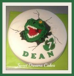 Dino taart