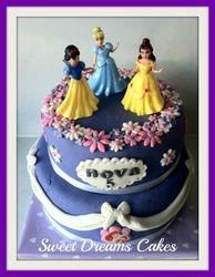 disney princesen taart