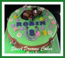 paardje taart