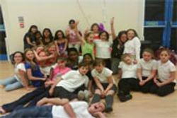 Half of my singing group!