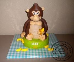 Gorilla taart