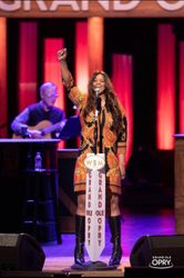 Wendy at the Grand Ole Opry