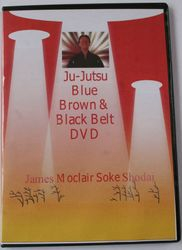 A Classic, Blue Brown & Black Belt by J Moclair Soke Shodai