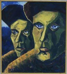 Työttomän kasvot 2 (1982 90x80)