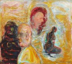 Vanhuus 1 (2007 90x120)