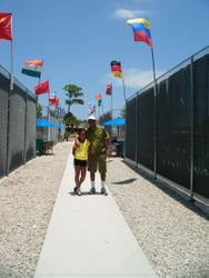 Club Med Academy Flags! - (With My Dad)