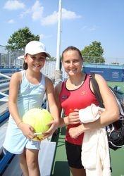 with Nadia Petrova! :)