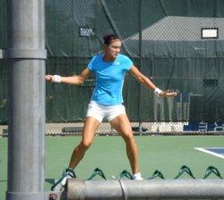 Dinara Safina Training